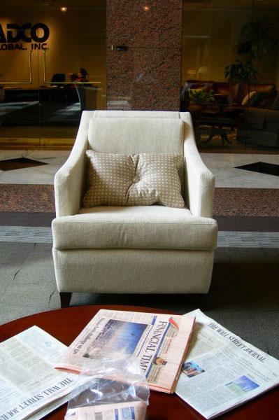 FORUM II Lobby Renovation Emily Pasquariello Interior Designs