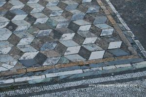 Mosaic tiles at Paestum 2