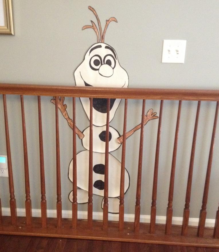 HI, I'm Olaf and I'm in BAD Design JAIL!